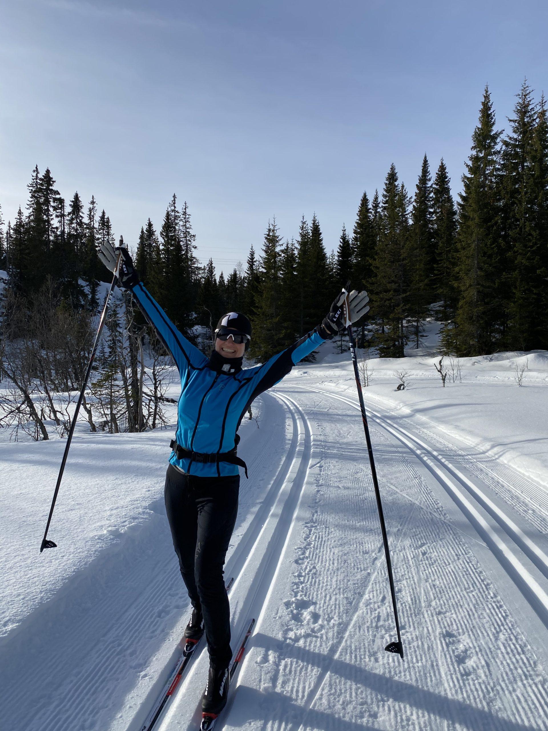 Koselig skitur på Lygna