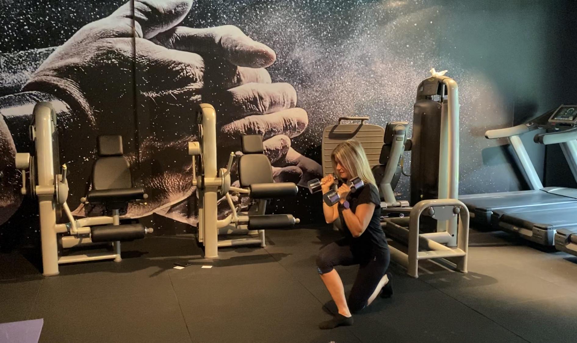 Effektiv styrkeøkt for ben, rumpe og kjerne
